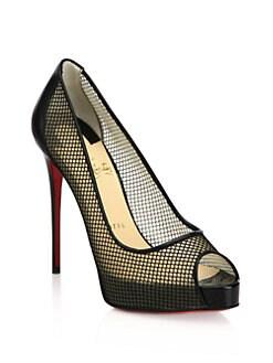 studded louboutins - Shoes - Shoes - Pumps & Slingbacks - Peep Toe - Saks.com