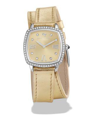 Albion Diamond & Stainless Steel Watch