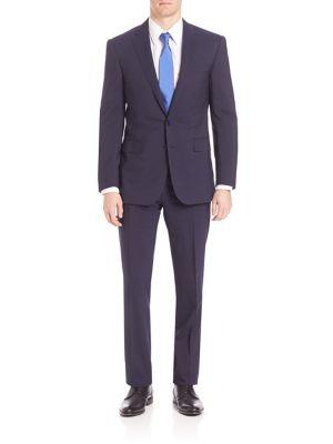 Image of Purple Label Wool Blend Suit