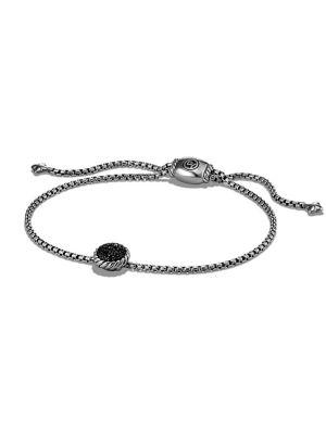 Petite Bracelet with Black Diamonds