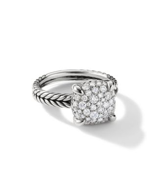 DAVID YURMAN | Châtelaine® Ring With Diamonds | Goxip