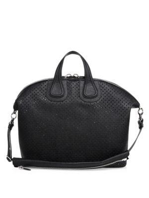 Nightingale Perforated Leather Bag