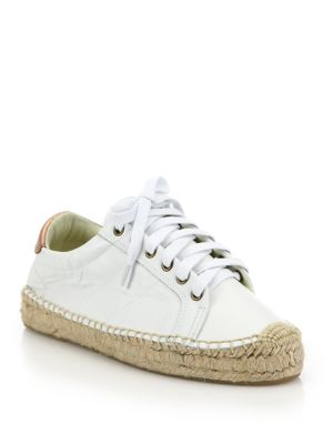Leather Platform Tennis Sneakerdrille