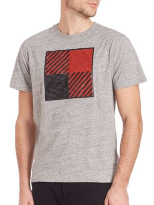 Textured Square Tee