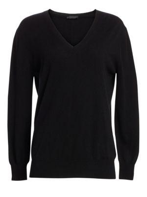Essentials Sabry Cashmere V-Neck Sweater