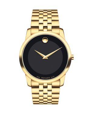 Museum Classic Bracelet PVD Goldtone Watch