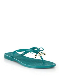 c791051344ae Tory Burch Jelly Bow Thong Sandals from Saks Fifth Avenue - Styhunt
