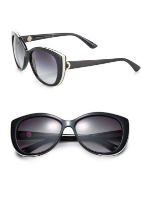 57MM Nylon Cat's-Eye Sunglasses