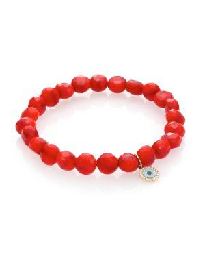 Bright Coral Bracelet