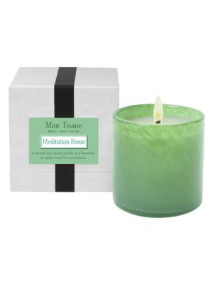Mint Tisane Candle, Mediation Room