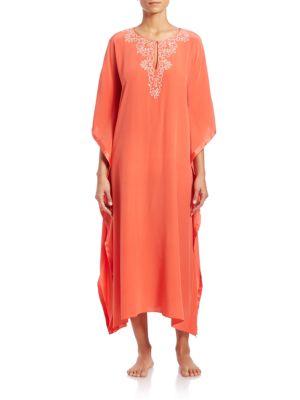 Valencia Silk Caftan plus size,  plus size fashion plus size appare