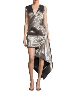Liquid Asymmetrical Dress