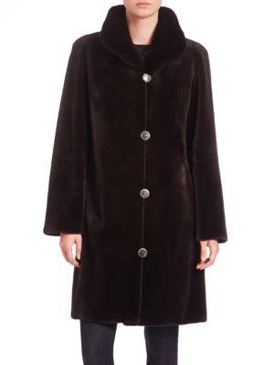 Reversible Mink Fur Coat