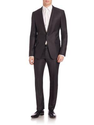 Single-Button Sheen Suit