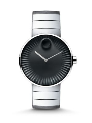 Edge Stainless Steel Watch