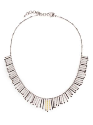 COOMI SILVER Diamond, 20K Yellow Gold & Sterling Silver Necklace