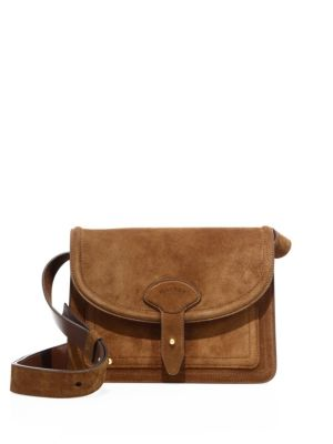 maiyet female 124410 icon mini suede messenger bag