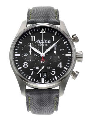 Startimer Pilot Stainless Steel Watch