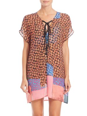 Mod Poppies Caftan Coverup plus size,  plus size fashion plus size appare