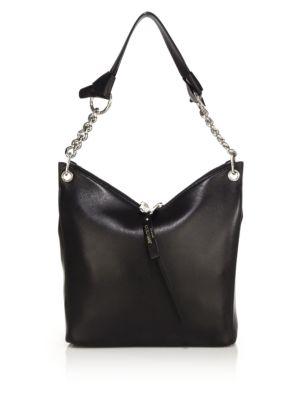 Raven Small Leather Shoulder Bag