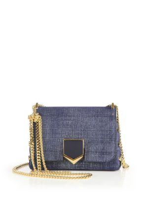 Lockett Petite Denim Crossbody Bag