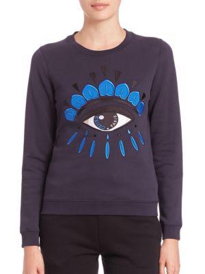 Classic Eye Icon Cotton Sweatshirt