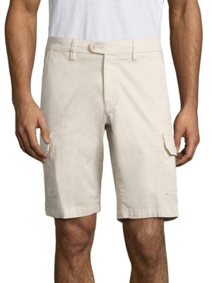 COLLECTION Solid Cargo Shorts