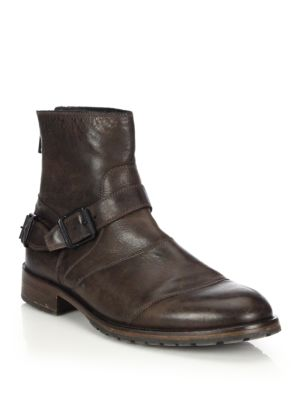 Trialmaster Waxed Leather Short Boots