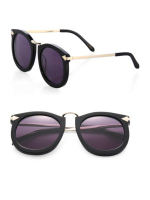 Super Lunar 53MM Cat's-Eye Sunglasses
