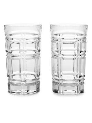 Set of Two Greenwich Highball Glasses