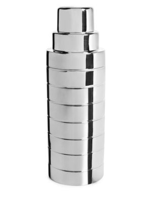 Montgomery Silver-Plated Cocktail Shaker