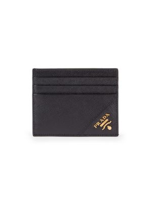 Black Logo Card Case