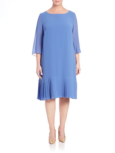 Dolina Pleated-Hem Dress