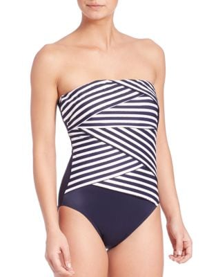 One-Piece New Directions Muse Swimsuit plus size,  plus size fashion plus size appare