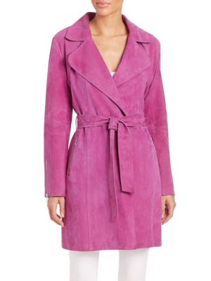 Gisele Suede Trench Coat plus size,  plus size fashion plus size appare