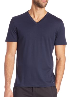 michael kors male sleek vneck tee