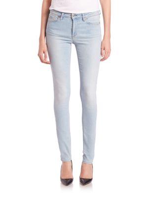 Skin Mid-Wash Vintage Skinny Jeans