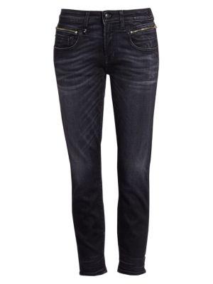 Faded Biker Boy Jeans