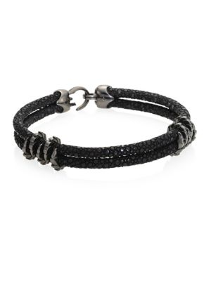 STINGHD Black Platinum Stingray Bracelet