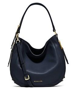 91f166cc1881b2 MICHAEL MICHAEL KORS Julia Medium Leather Hobo Bag