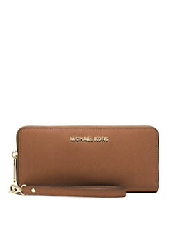 MICHAEL MICHAEL KORS - Leather Wristlet