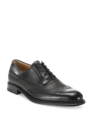 Wingtip Laser Cut Oxford Shoes