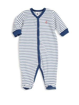 Baby's Striped Footie