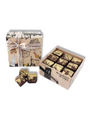 NY Chocolate Caramel Box, Set of 9