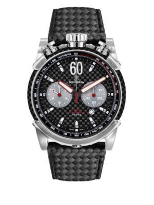 CT SCUDERIA Fibra Di Carbonio Stainless Steel Watch
