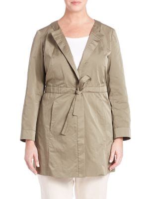 Jonas Drawstring Jacket plus size,  plus size fashion plus size appare