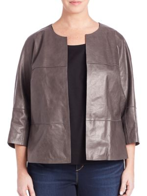 Ritchie Leather Jacket plus size,  plus size fashion plus size appare