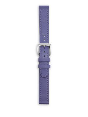 Albion Leather Watch Strap in Lavendar
