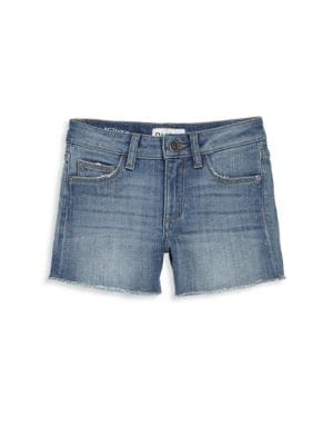 Little Girl's & Girl's Lucy Denim Shorts