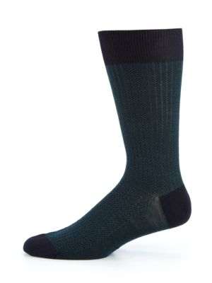Finsbury Herringbone Socks